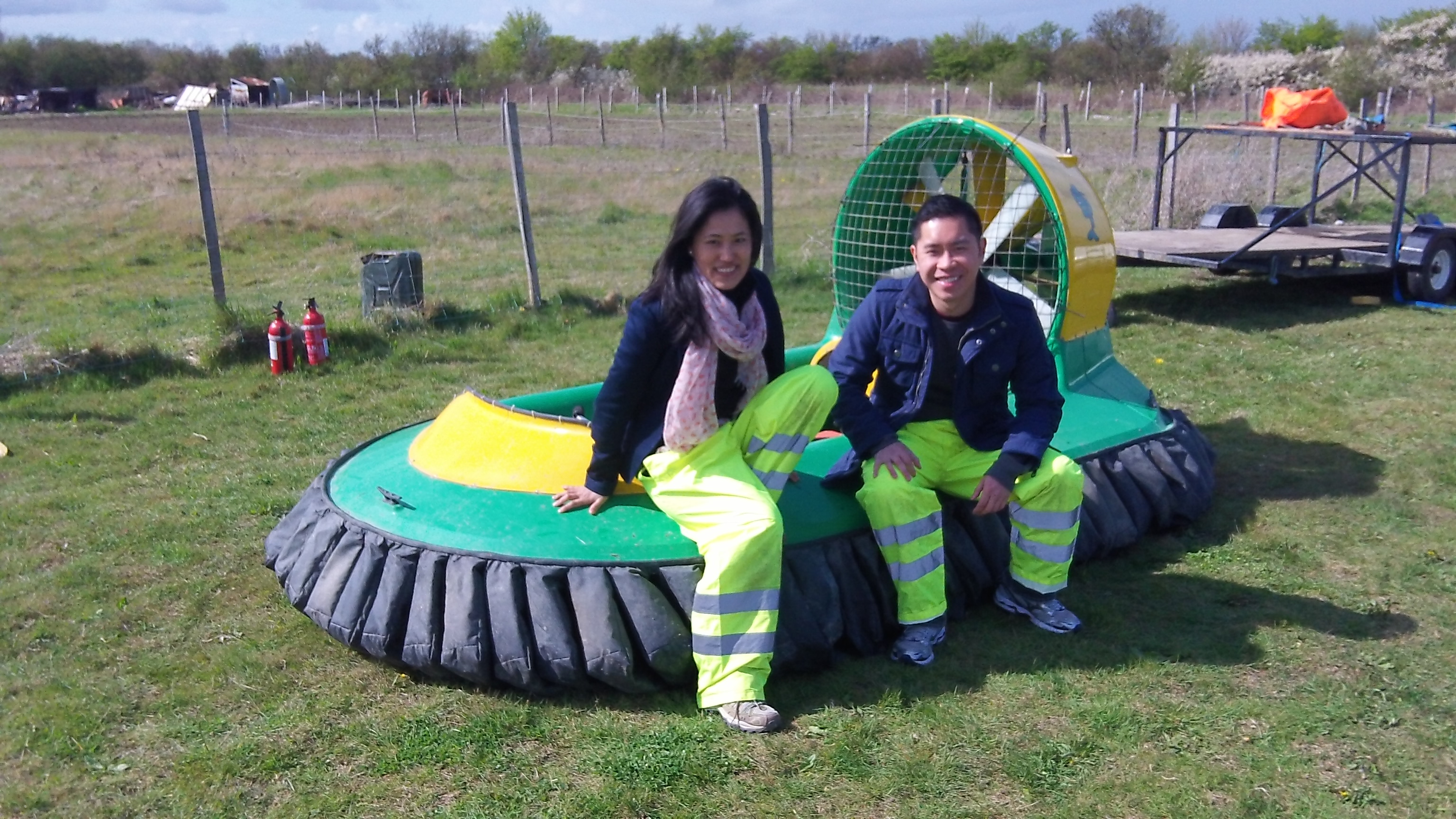 Hovercraft Adventures in Sandwich