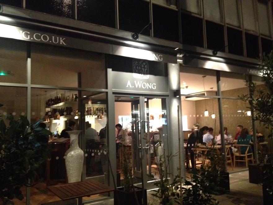 a. wong restaurant review