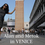 Alan and Metok in Venice