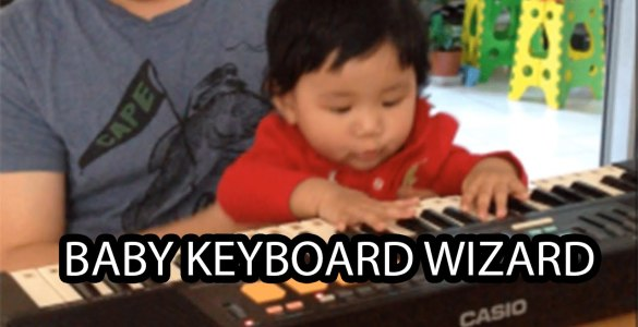 Our Baby is a Piano Keyboard Wizard!