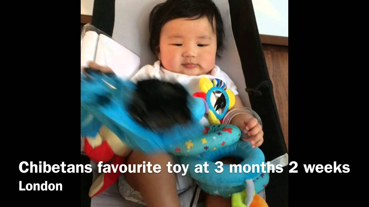 3 Month Baby – Favourite Toy