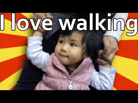 Baby Walks into Camera