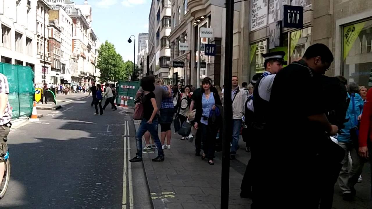 Batman is arrested in London