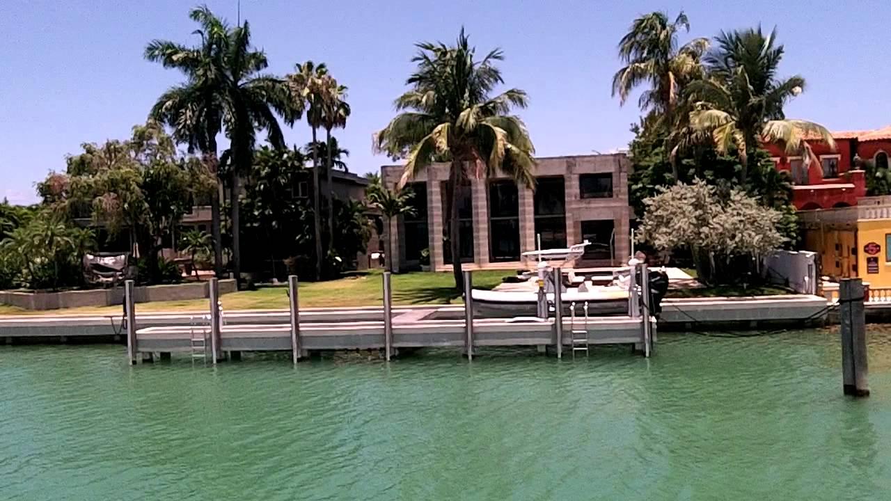 Bay Cruise Tour, Miami – Celebrity Houses – Julio Inglesias