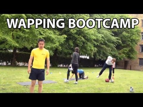 Bootcamp Class in Wapping – Timelapse