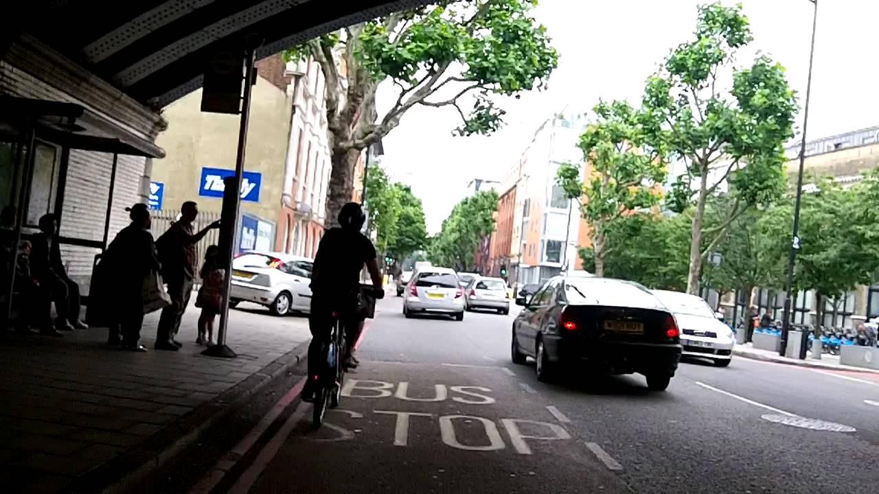 Boris Bike ride in SE1
