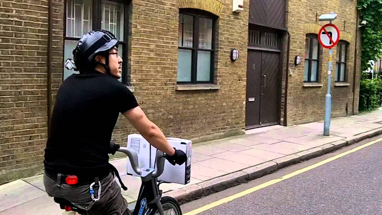 Cycling on Boris Bikes in SE1