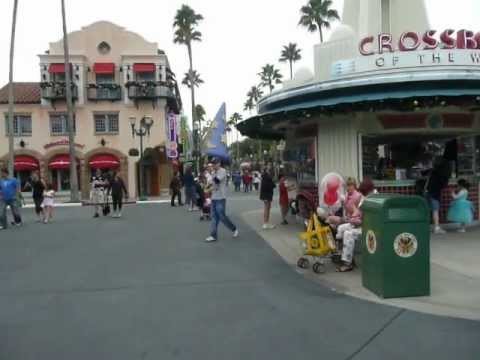 Entering Disney's Hollywood Studios in Orlando Florida