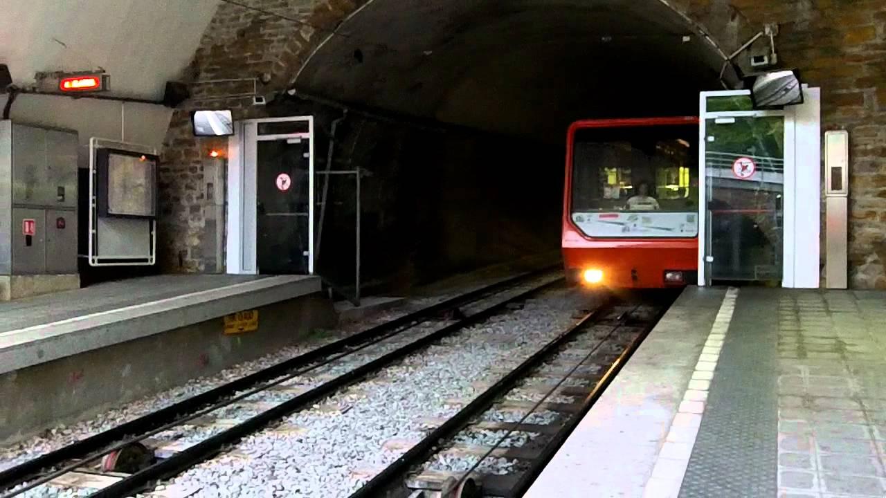 Funicular in Lyon (Funiculaires de Lyon)
