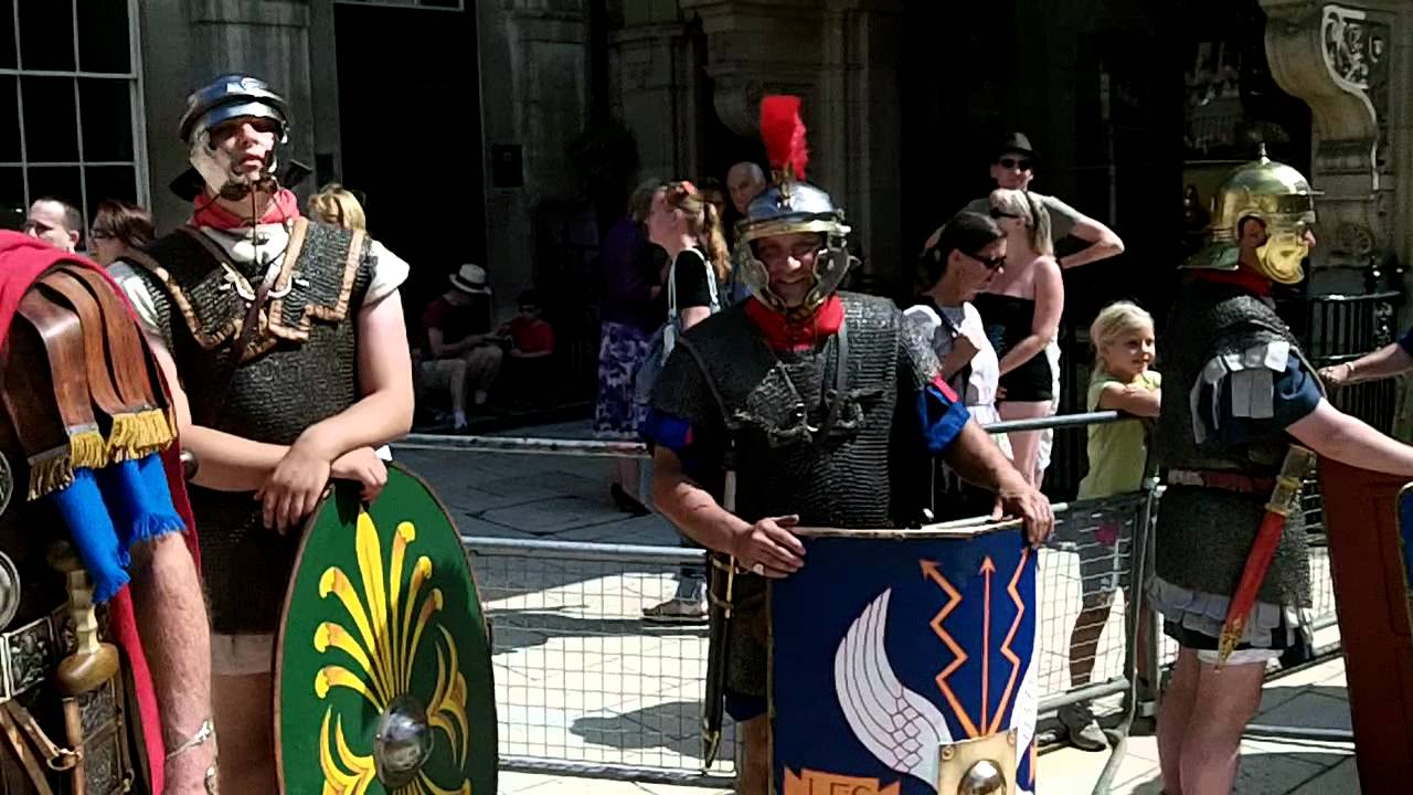 Gladiator Games at London Guildhall 2011