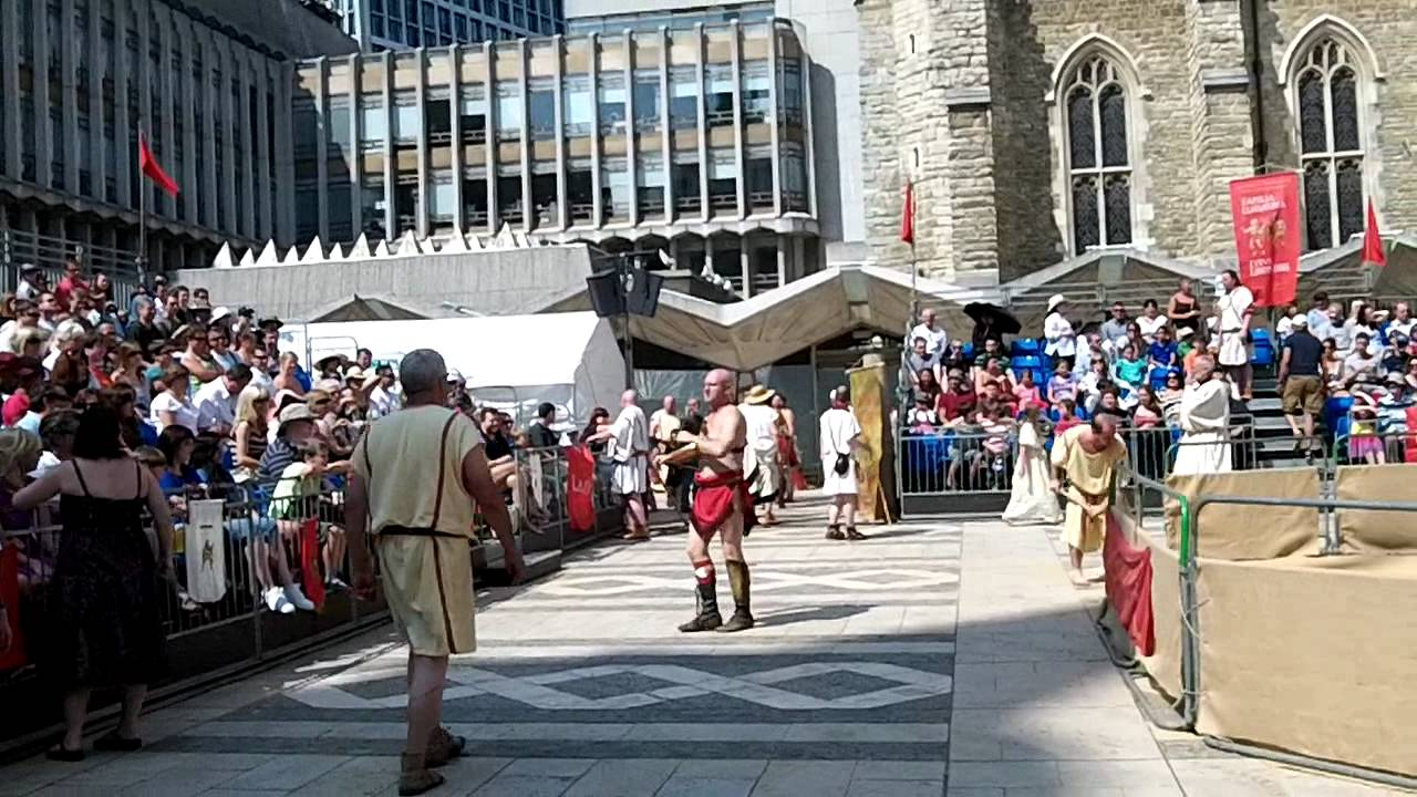 Gladiator Games – London Guildhall – 2011