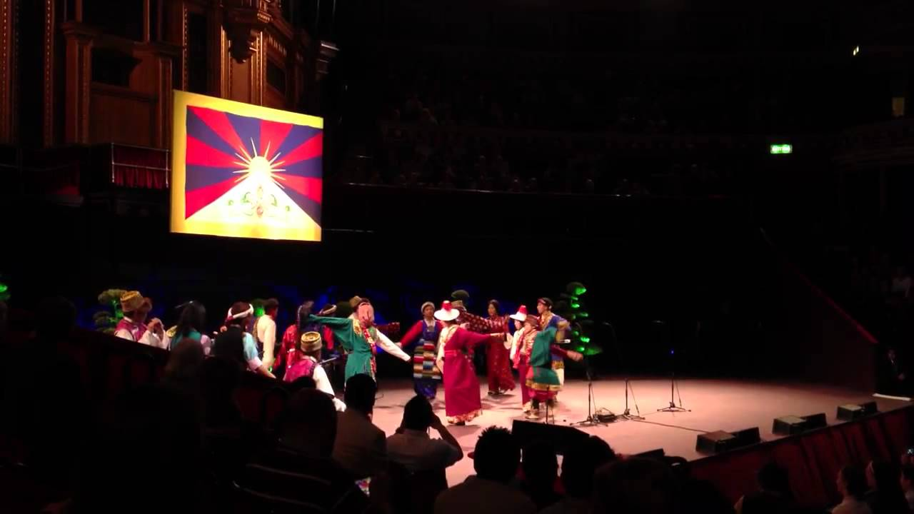 His Holiness the Dalai Lama at Royal Albert Hall