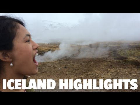 Iceland Highlights 2015 – Reykjavik, Golden Circle, Gulfoss, Blue Lagoon