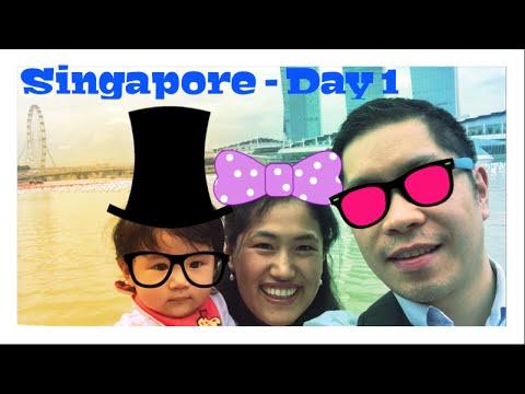 Landing in Singapore – Day 1