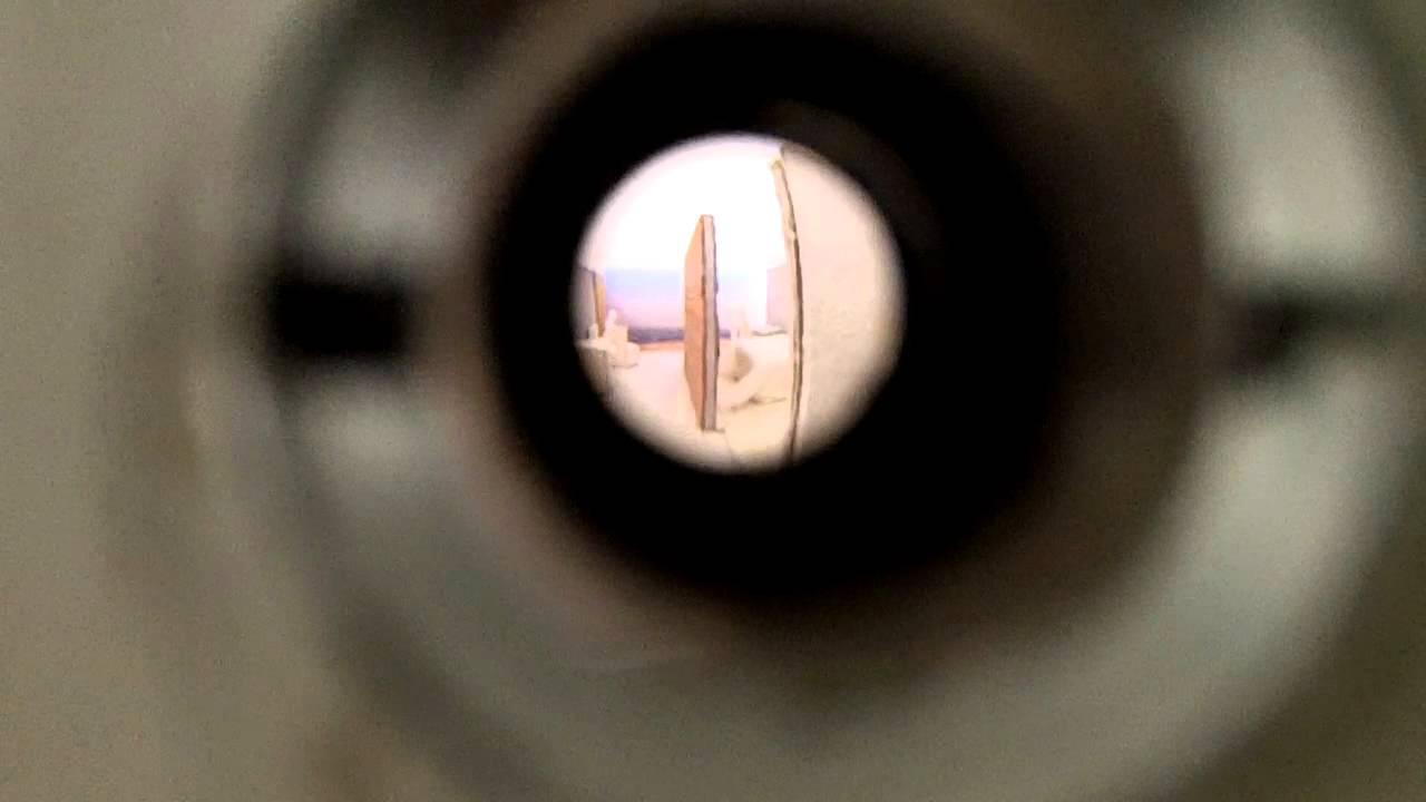 Looking through Peephole number 5
