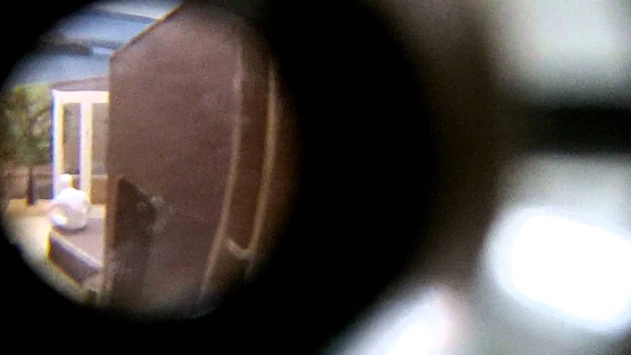 Looking through Peephole number 1
