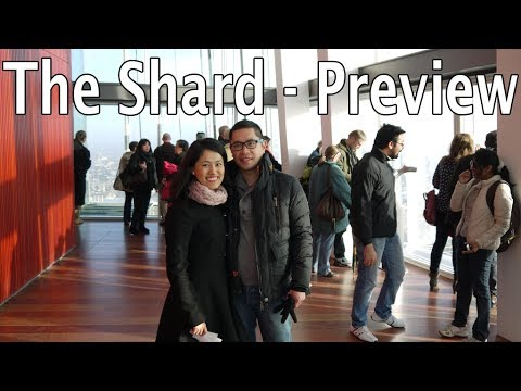 Our visit to The Shard in London