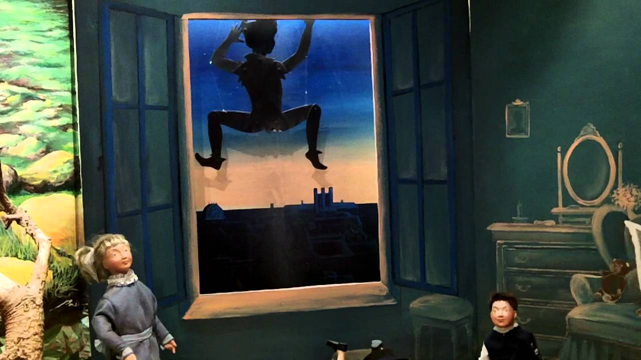 Peter Pan scene at the Museum of Animated Puppets ( Le Musée des Automates), Lyon