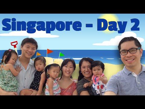 Singapore – Siloso Beach, Sentosa and Sea Aquarium – Day 2 – Time with Friends