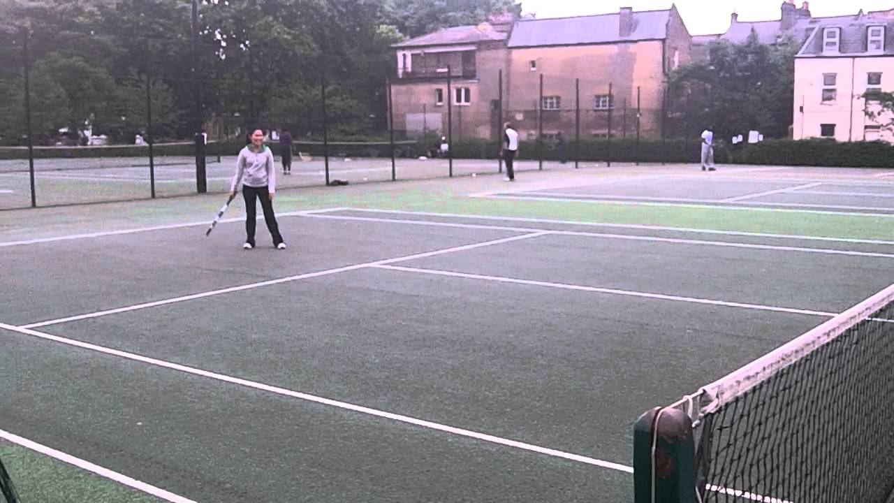 Sither vs Sither Tennis Match