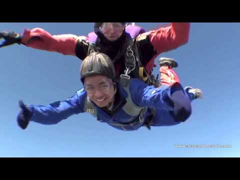 Sky Diving – Tandem Sky Dive at the North London Sky Dive Centre