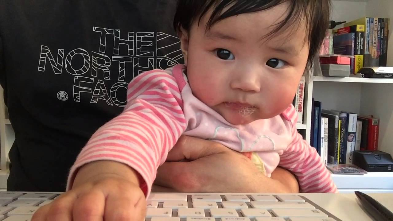 Teaching a Baby to Touchtype
