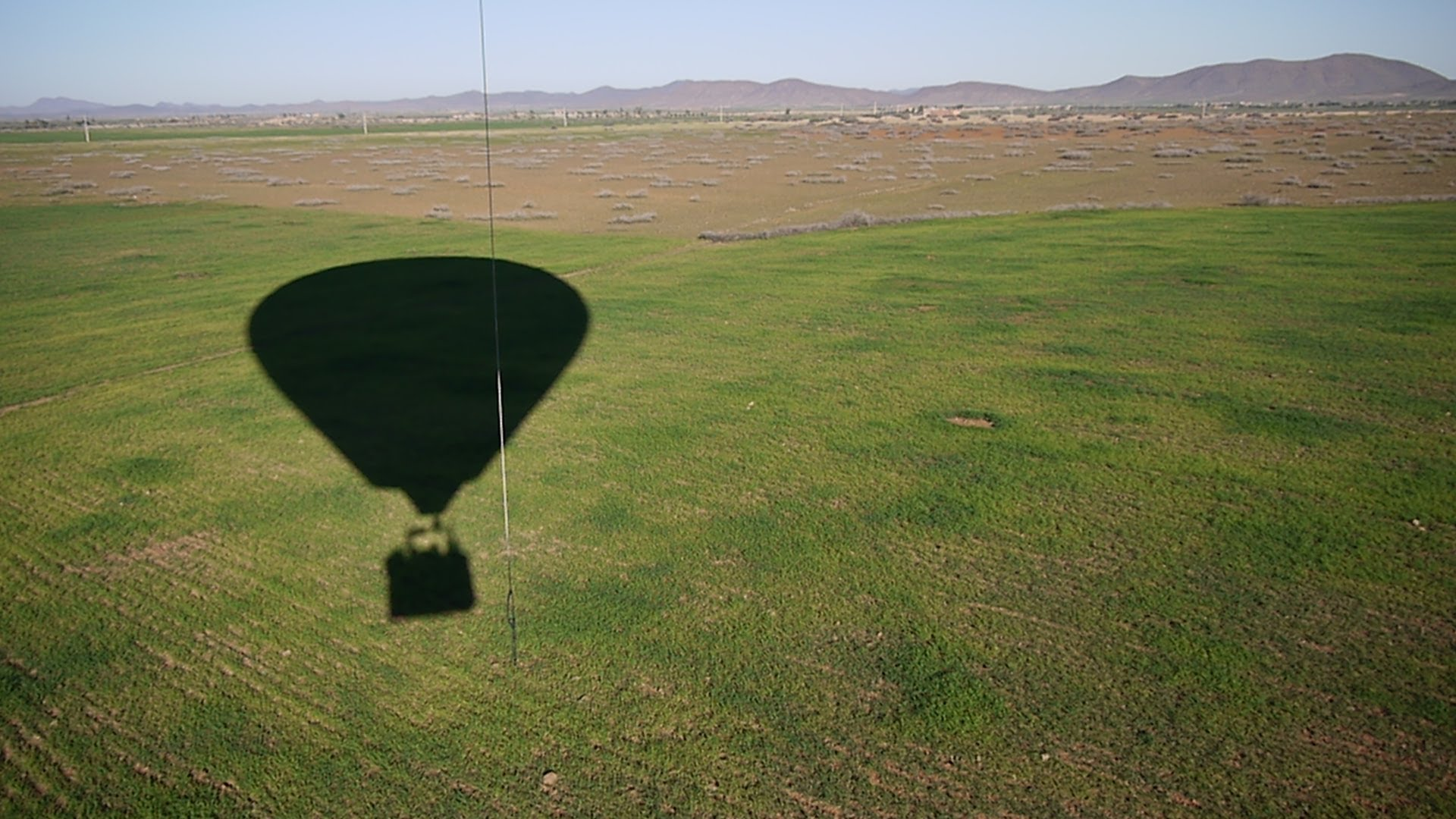 The Bumpy Balloon Ride Landing in Marrakech