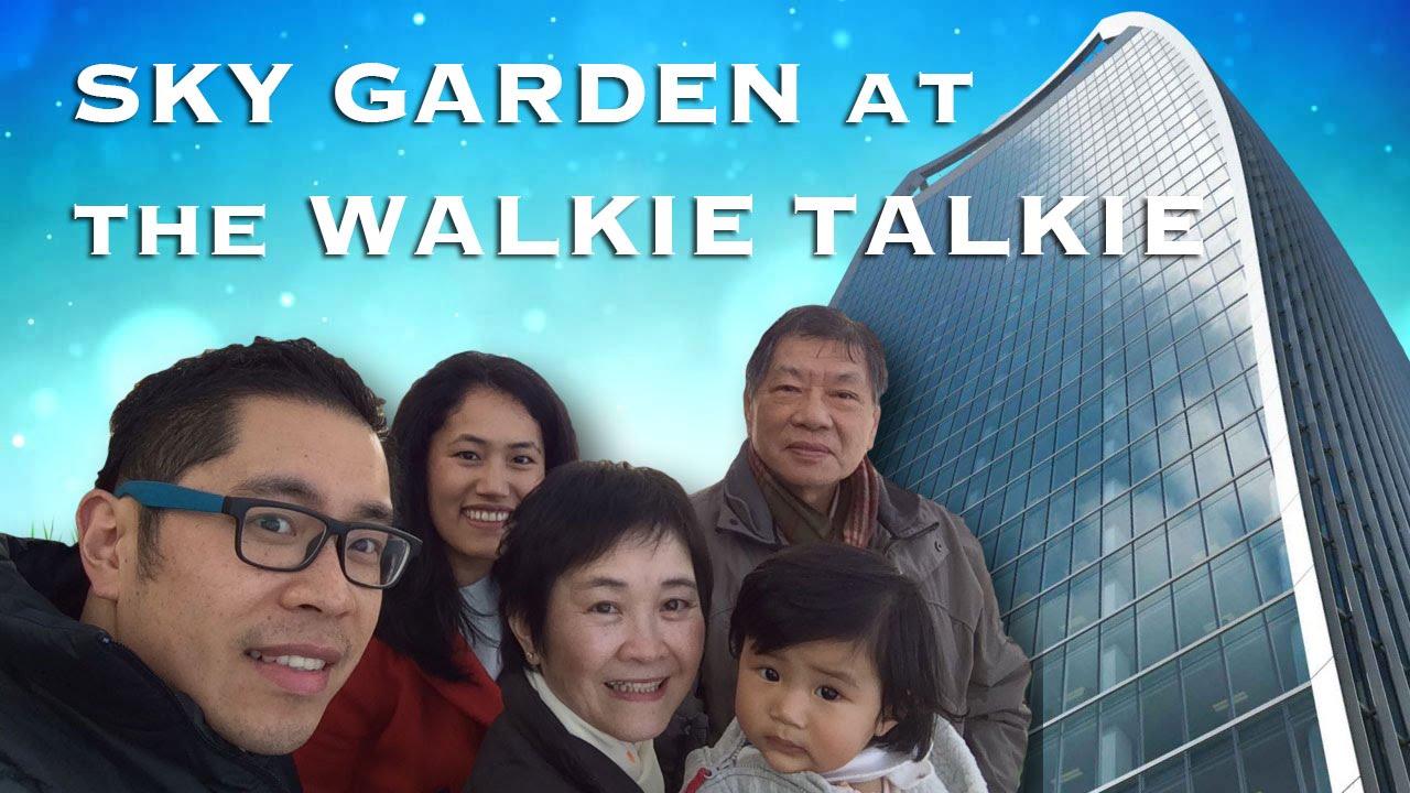 The Sky Garden in London – Walkie Talkie building (20 Fenchurch St), London