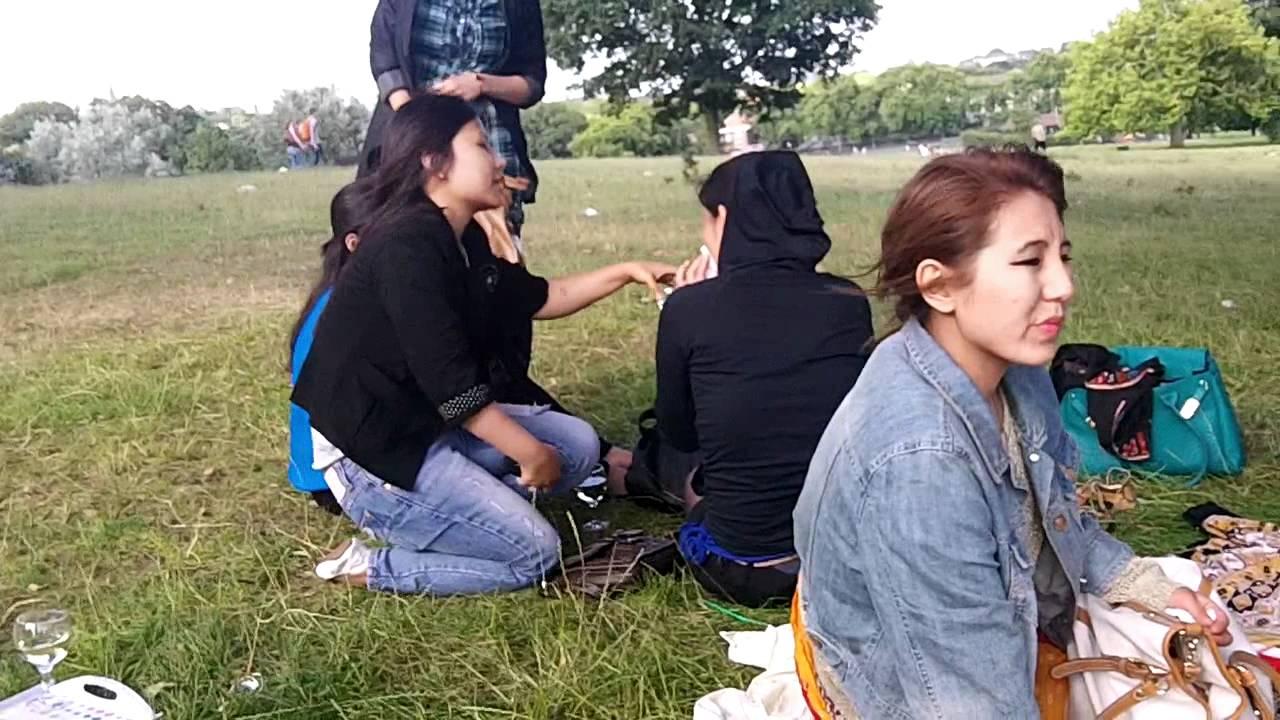 Tibetan picnic in Hampstead Heath