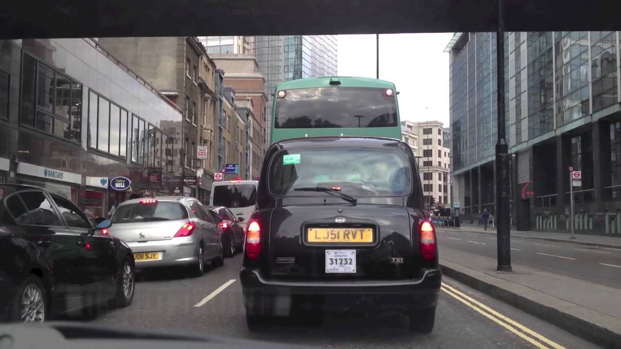 Timelapse Video – Driving from Holborn to Greenwich in London