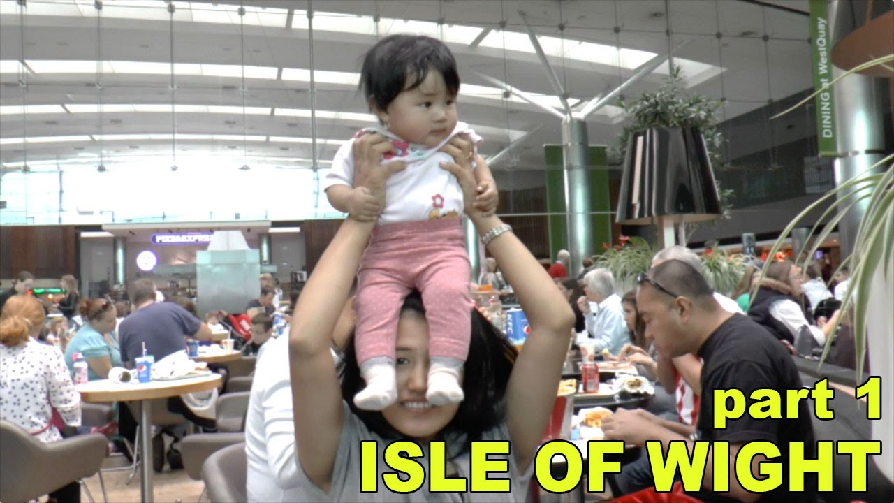 Weekend at the Isle of Wight – First Trip with Baby – Part 1