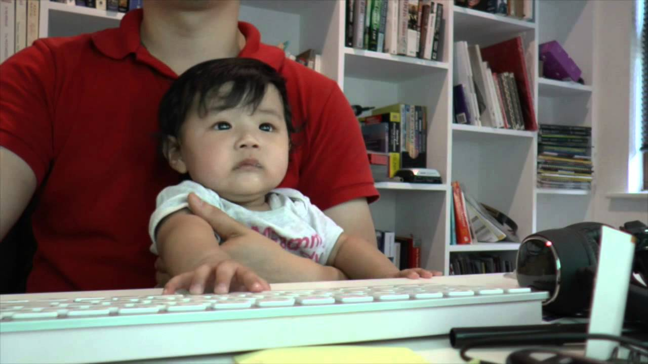 Working from Home with a 4 month Baby