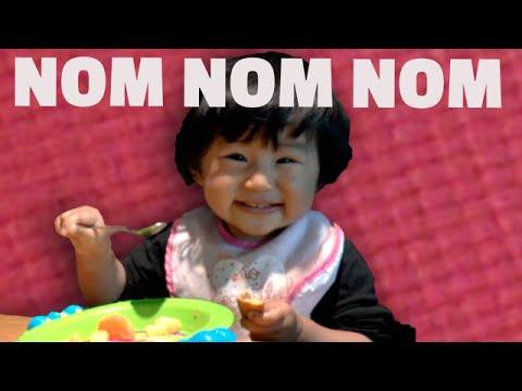 Baby Eating Compilation – NOM NOM NOM!