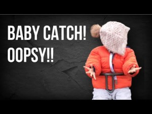 Playing Catch with a Baby