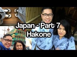 Journey to Japan – Part 7 – Hakone, Togendai, Pirate Ship on Lake Ashi, Onsen in Ryokan