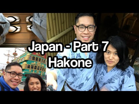 Journey to Japan – Part 7 – Hakone, Togendai, Pirate Ship on Lake Ashi, Onsen in Ryokan